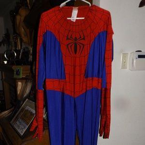 Mens XL Marvel Spiderman Costume
